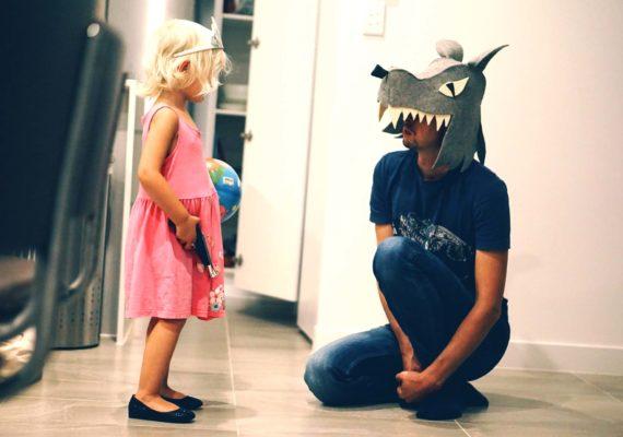 Сказка про принцессу и волка