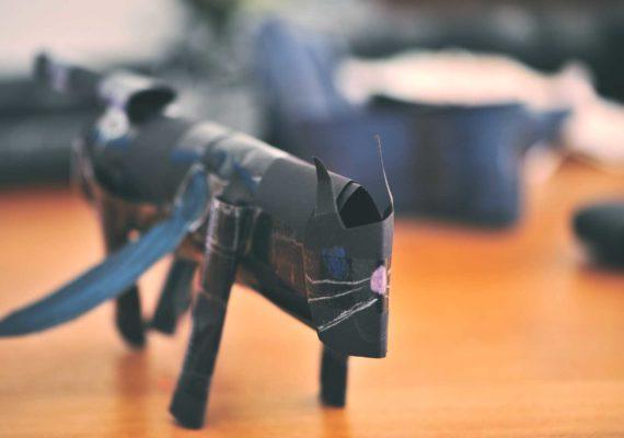 Виртуальная выставка 3D paper craft от Данилы