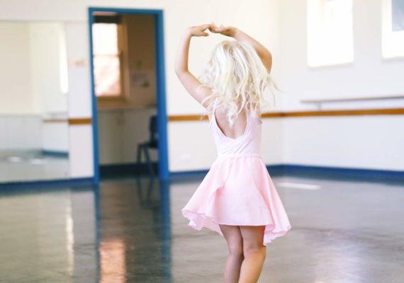 Балет в 4 года в Австралии. Открытый урок Элины